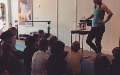 Kids kickbox clinic