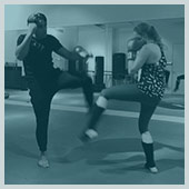 Girls16+ Kickboxing